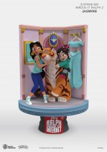 Ralph Breaks the Internet D-Stage PVC Diorama Jasmine & Vanellop