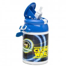 Star Wars Pop-Up plastová lahev na vodu Yoda 500 ml