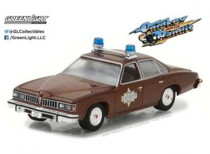 Smokey and the Bandit kovový model 1/64 1977 Sheriff Buford T.
