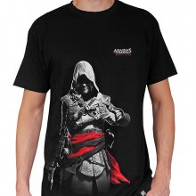 Triko s potiskem Edward Kenway Assassins Creed L