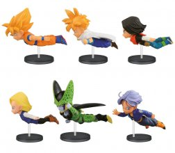 Dragonball Z WCF ChiBi Figures 8 cm Assortment 30th Anniversary