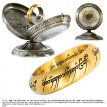 Lord of the Rings Stainless Steel Ring The One Ring (gold plated