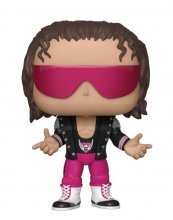 WWE POP! Vinylová Figurka Bret Hart with Jacket 9 cm