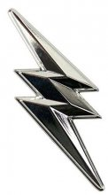 Power Rangers Metal Pin Thunderbolt