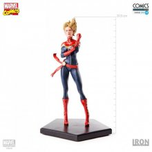 Marvel Comics soška 1/10 Captain Marvel 20 cm Iron Studios