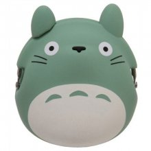 My Neighbor Totoro Mini Silicon Peněženka na mince Totoro green