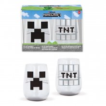 Minecraft Crystal Glasses 2-Packs Case (6)