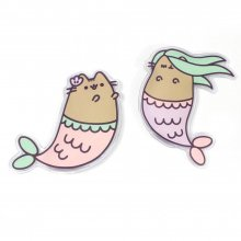 Pusheen ohřívač rukou 2-Pack Mermaid