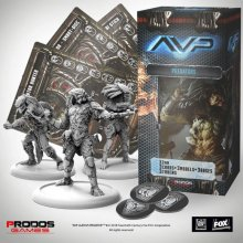 AvP Tabletop Game The Hunt Begins Expansion Pack Predators *Germ