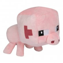 Minecraft Mini Crafter Plyšák Pig 11 cm