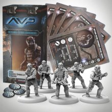 AvP Tabletop Game The Hunt Begins Expansion Pack Weyland Yutani