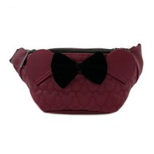 Disney by Loungefly Fanny Pack Dark Red Mickey Mouse