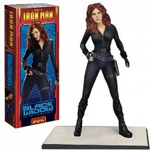 Iron Man 2 plastový model kit Black Widow 1:8