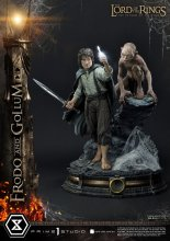 Lord of the Rings Socha 1/4 Frodo & Gollum Bonus Version 46 cm