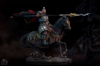 Three Kingdoms Socha Zhang Fei 70 cm