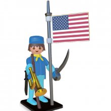 Soška Playmobil Nostalgia Collection American Horseman 25 cm