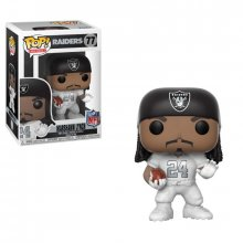 NFL POP! Football Vinyl Figure Marshawn Lynch (Raiders Color Rus