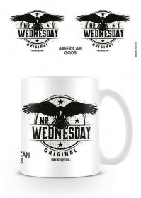 American Gods Hrnek Mr Wednesday