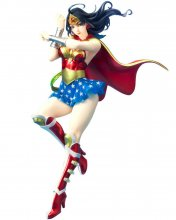 DC Comics Bishoujo PVC Socha 1/7 Armored Wonder Woman 2nd Editi