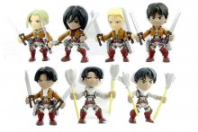 Attack on Titan Action Vinyl Mini Figures 8 cm Wave 1 Display (1