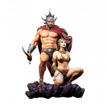 Frazetta Legacy Series Socha 1/4 The Swordsman of Mars 53 cm
