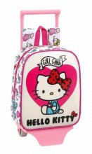 Hello Kitty Mini taška na kolečkách Girl Gang 28 cm