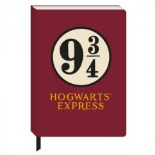 Harry Potter A5 Notebook Platform 9 3/4