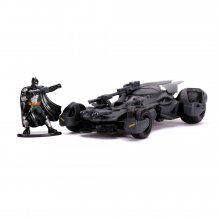 Justice League Hollywood Rides kovový model 1/32 Batmobile with
