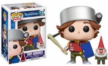 Trollhunters POP! Television Vinyl Figure Toby Armored & Gnome 9