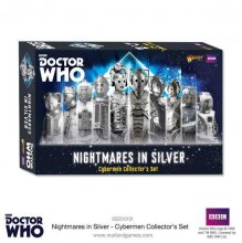 Doctor Who Exterminate! Miniatures Nightmares in Silver Cybermen