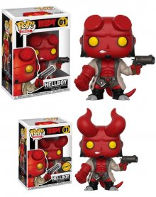 Hellboy POP! Movies Figures Hellboy 9 cm prodej v sadě (6)