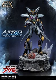 Guyver The Bioboosted Armor Statues Aptom Omega Blast & Exclusiv