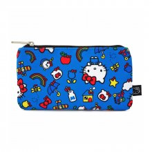 Hello Kitty by Loungefly Coin/Cosmetic Bag Kitty & Rainbow Patte