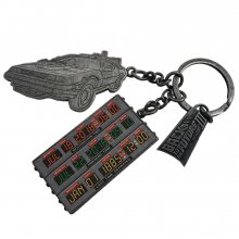 Back to the Future II Metal Keychain Time Circuit 2018 SDCC Conv