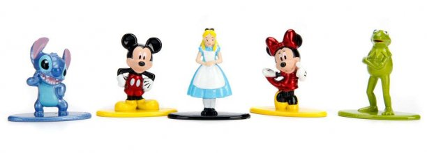 Disney Nano Metalfigs Diecast mini figurky 5-Pack A 4 cm