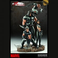 X-Men - Diorama X-Force Sideshow Exclusive