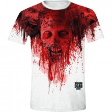 The Walking Dead tričko Walkers in Face Stain M