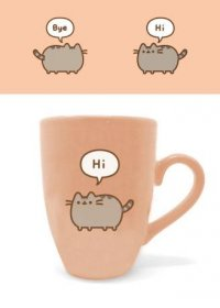 Pusheen Latte Hrnek Pusheen Says Hi