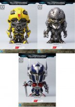 Transformers The Last Knight Super Deformed Vinyl Figures 10 cm