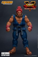 Street Fighter V Arcade Edition Action Figure 1/12 Akuma Nostalg