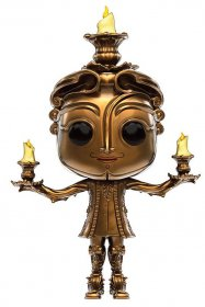 Beauty and the Beast POP! Disney Vinylová Figurka Lumiere 9 cm