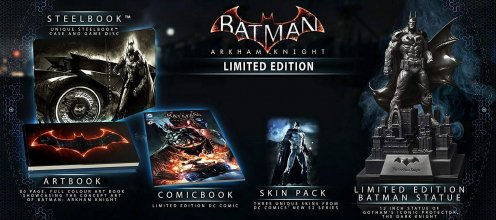 Batman Arkham Knight Limited Edition Collectors Set