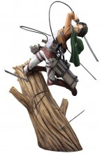 Attack on Titan ARTFXJ Socha 1/8 Levi Renewal Package Ver. 28 c