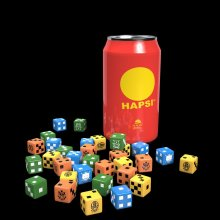 GKR Heavy Hitters Hapsi Can & Dice Set