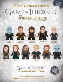 Game of Thrones Trading Figure The Winter Is Here Collection Tit