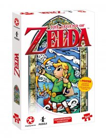 The Legend of Zelda skládací puzzle Link Hero's Bow
