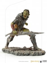 Lord Of The Rings BDS Art Scale Socha 1/10 Swordsman Orc 16 cm