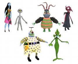 Nightmare before Christmas Select Action Figures 18 cm Series 6