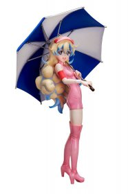 Gurren Lagann PVC Socha 1/7 Nia Race Queen Version 21 cm