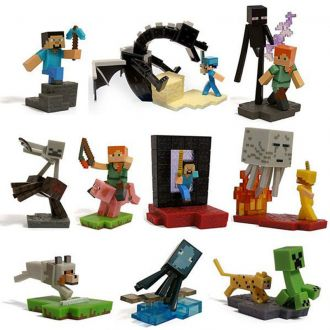 Minecraft Craftable figurka Blind Box 6 cm